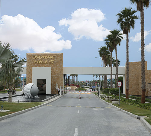 Alamo Champagner Hoteleingang