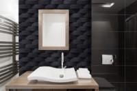 Bathroom Atlas Black mathios stone