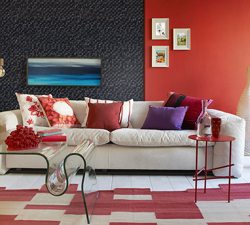 Delos Black Living Room