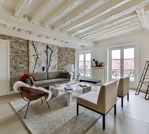 Isola Gray Scandinavian Living Room