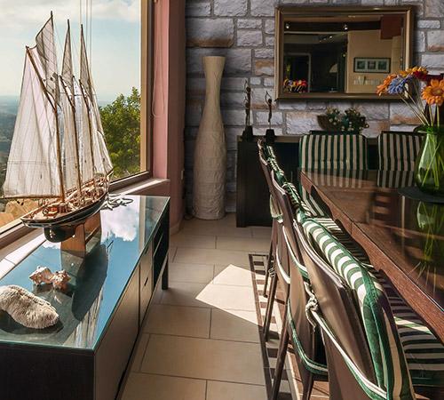 Tuscany Cream Dinning Room