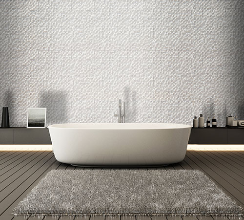 Delos White Bathroom