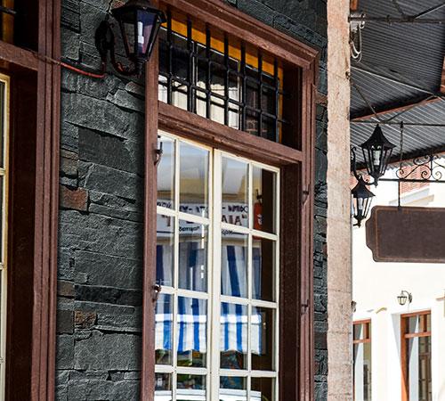 Highland Gray Exterior Cafe