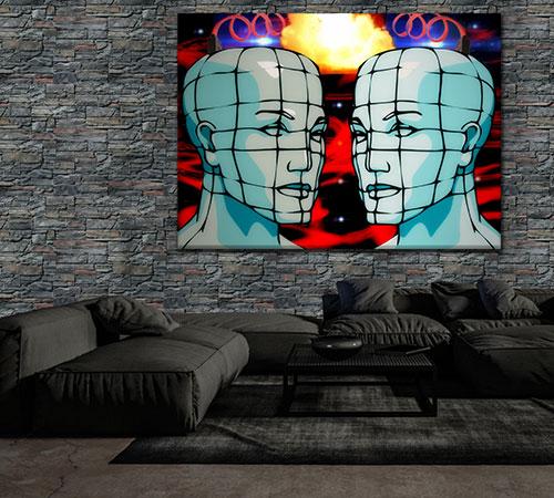Altaia Lava Dark Room