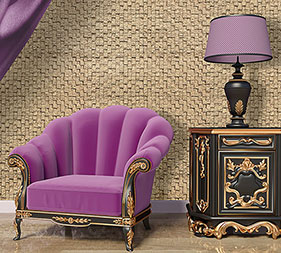 Aristocracy Delos Room with Armchair and Lamp