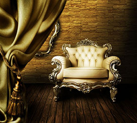 Aristocracy Highland with Old Style Armchair
