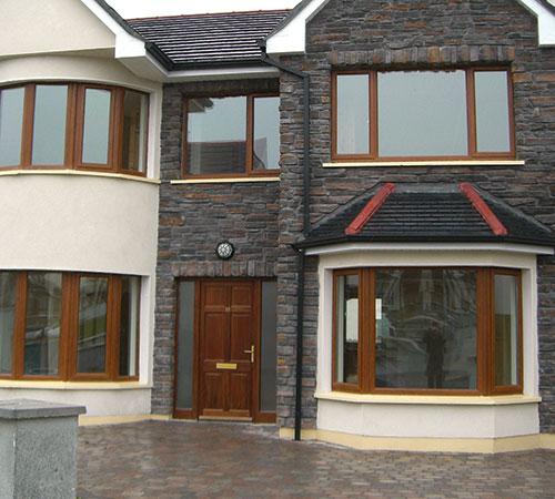 Bretagne Rusty House Facade