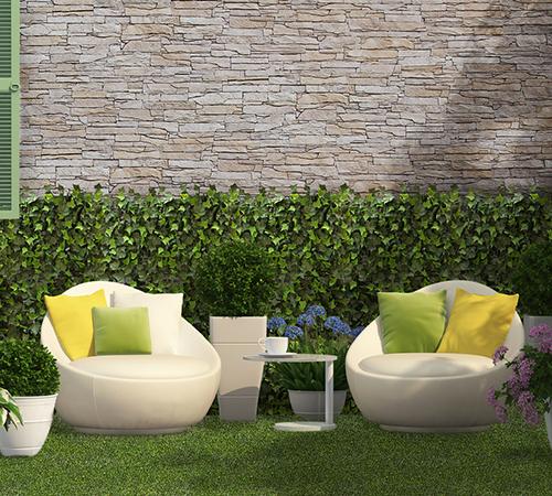 Garden IMathios Stone Garden with Isola Champagnesola Champagne Mathios Stone