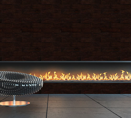 Sequoia Wenge fire place