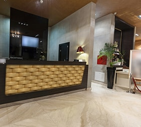 Hotel Reception Atlas Aristocracy - Mathios Stone Jewellery Line
