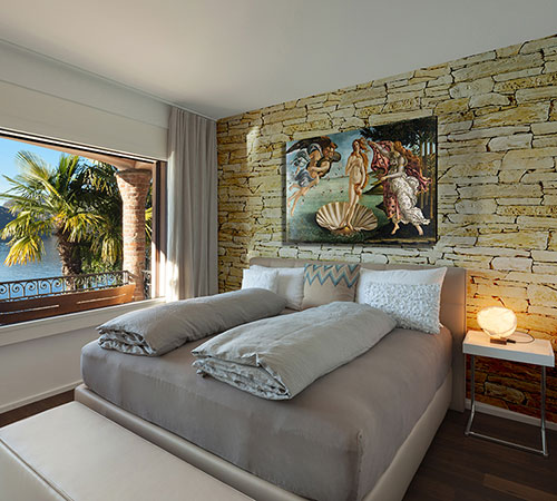 Isola Champagne Bed Room