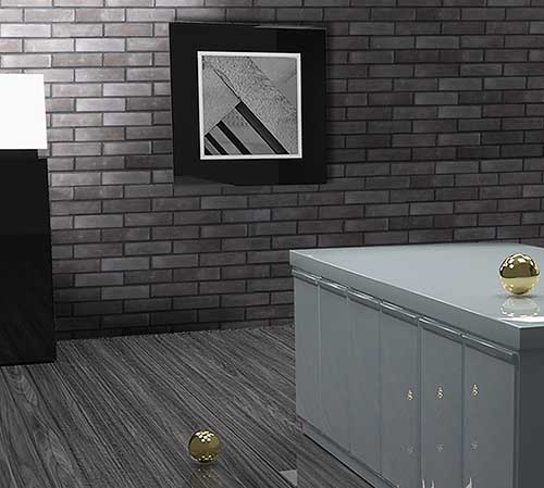 Kerabrick Black Gallery Interior