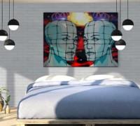 Kerabrick White Bedroom Interior