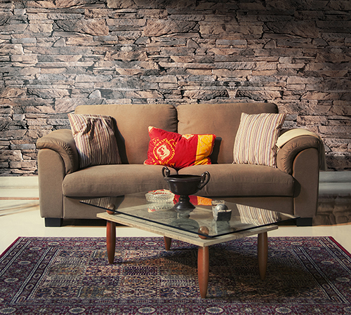 Isola Brown Living Room