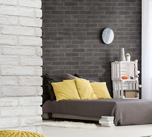 Masterbrick White & Gray Bedroom