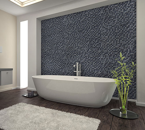 Delos Gray Bathroom