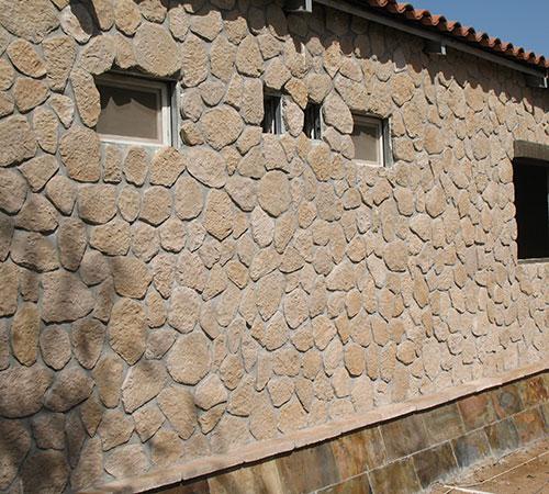 Terra Brown Fassade
