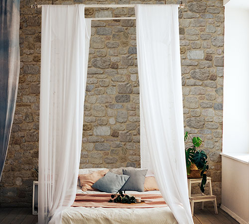 Arcadian Old Bed Room Style