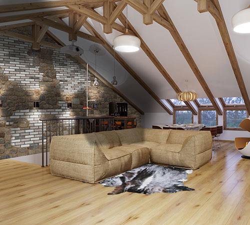 Arcadian Masterbrick & White Grained Interior