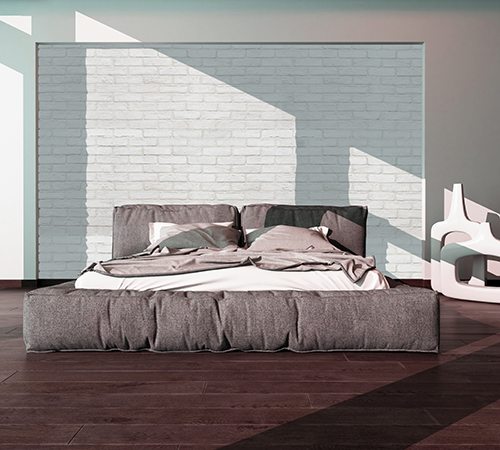 Masterbrick White Bedroom