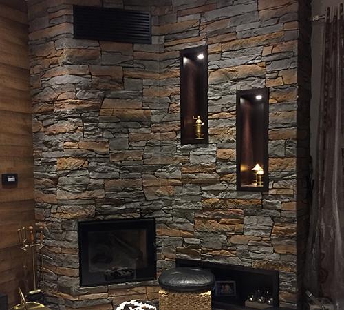 Isola Rusty Fireplace